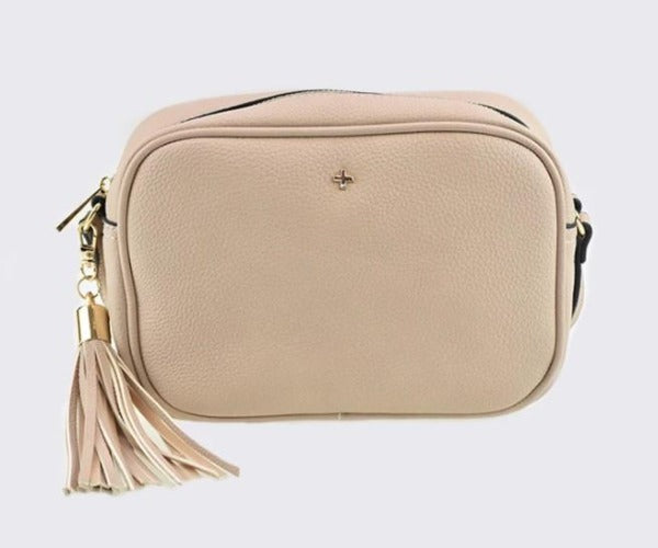 PETA + JAIN Gracie Crossbody Camera Bag Nude Pebble