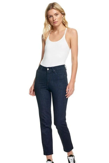 Res Denim Donna Hi Slim Indy Rinse