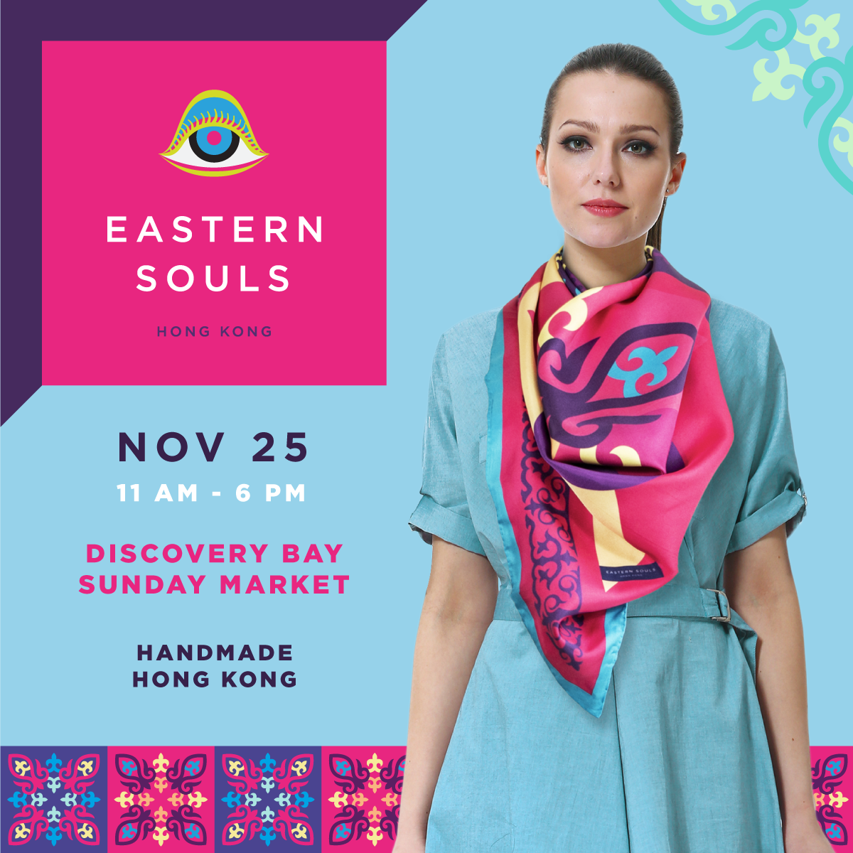 Eastern Souls Hong Kong Pop-Up at Discovery Bay Holiday Market
