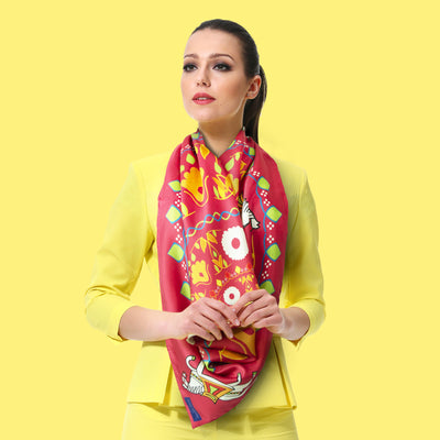 4 Simple Reasons to Wear Silk Scarves