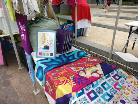 Eastern Souls Pop Up Booth at Discovery Bay, Hong Kong