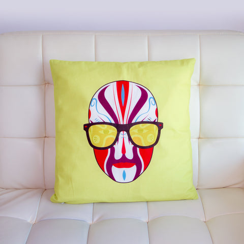 Opera Party Designer Cushion Cover