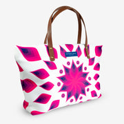 Hot Pink Bauhinia Large Tote Bag