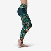 Green Jade Leggings Hong Kong