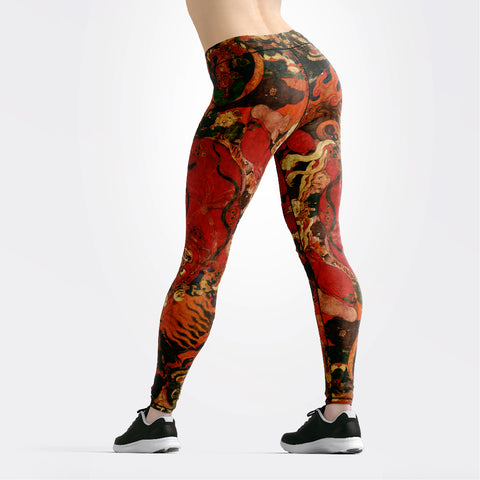 Eastern Art Leggings