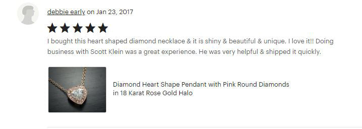 Flawless Carat Customer Review_Debbie E
