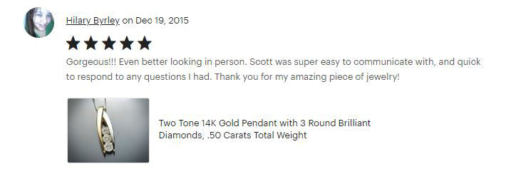 Flawless Carat Customer Review_Hilary B