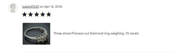 Flawless Carat Customer Review_Isai 1525