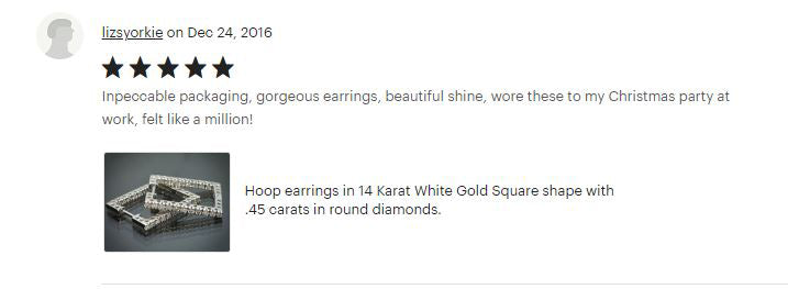 Flawless Carat Customer Review_Lizsyorkie