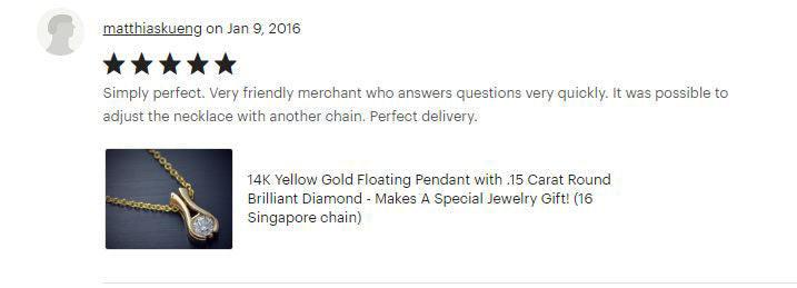 Flawless Carat Customer Review_MatthaisK