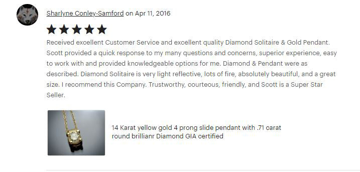 Flawless Carat Customer Review_Sharlyne C