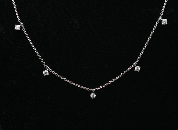 18KT. Gold Diamond Necklace