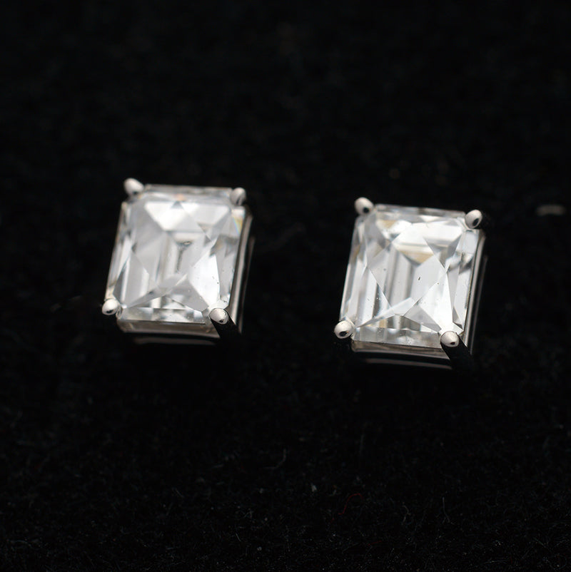 Cushion Diamond Stud Earrings - FlawlessCarat