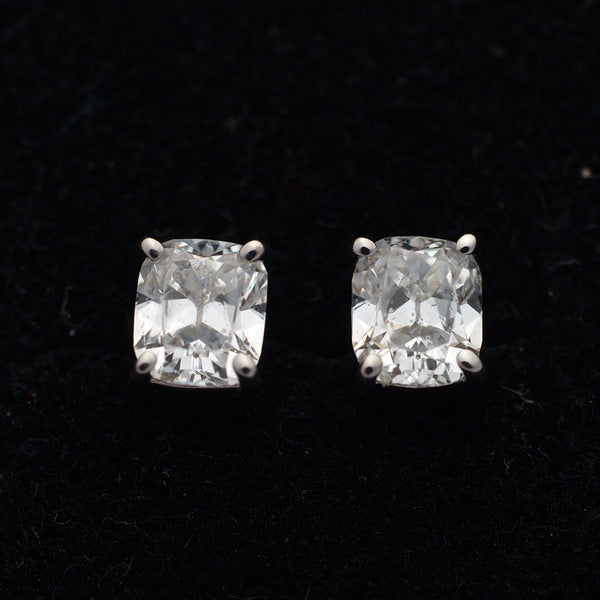 Cushion Cut Diamond Studs - FlawlessCarat