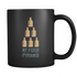 Mug My Food Pyramid (black) Drinkware buy now