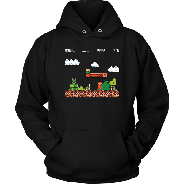 Unisex Hoodie Super Mario T-shirt buy now
