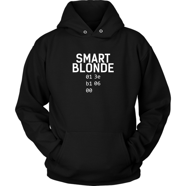 Unisex Hoodie Smart Blonde T-shirt buy now