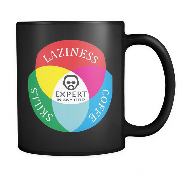 Mug Laziness Coffee Skills Expert Drinkware buy now