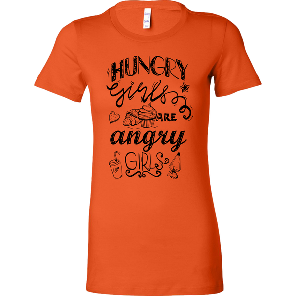 Womens Shirt Hungry Girls Are Angry Girls T-shirt buy now