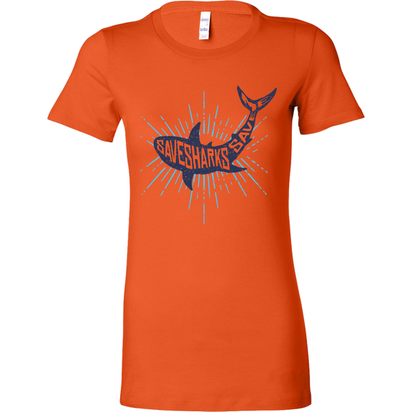 Womens Shirt Save Sharks Save Me T-shirt buy now