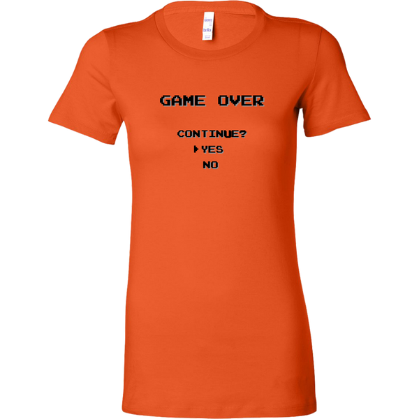 Womens Shirt Game Over T-shirt buy now