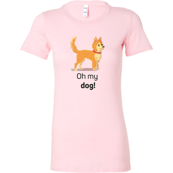 Womens Shirt Oh My Dog Pixels T-shirt buy now