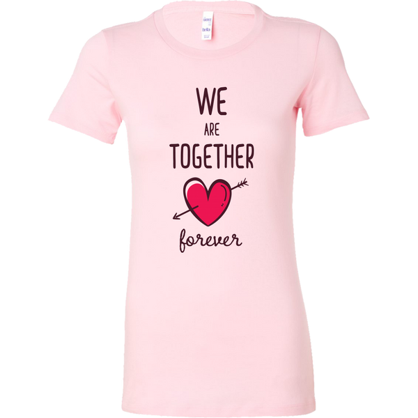 Couples Shirt We Are Together Forever (for her) T-shirt buy now