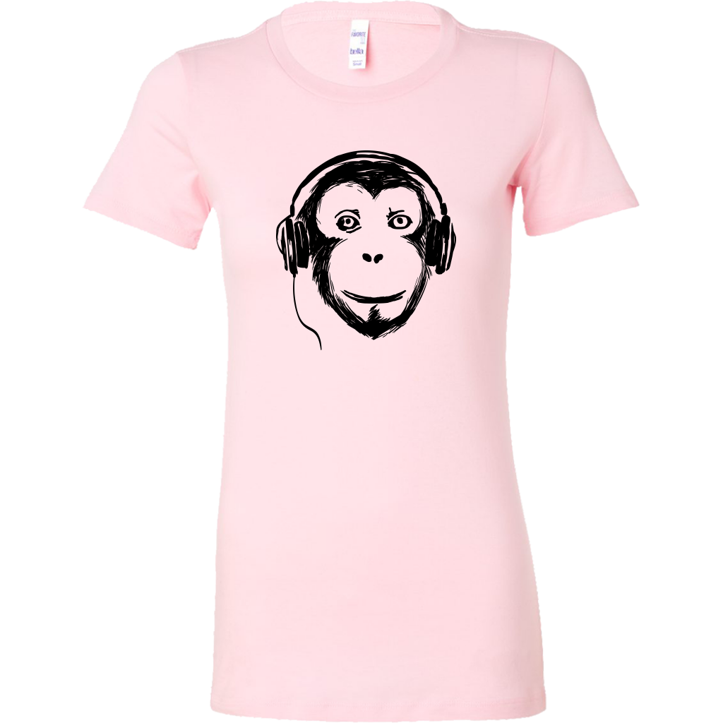 Womens Shirt Audio Monkey - t-shirts buy in usa