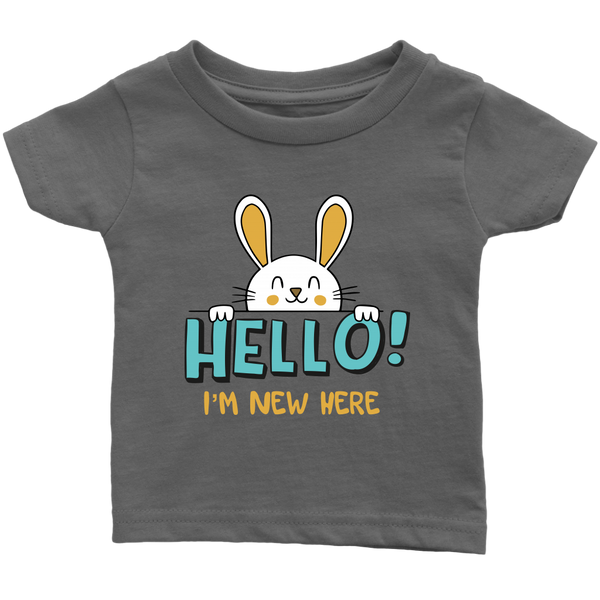 Infant Shirt Hello I'm New Here T-shirt buy now