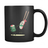 Mug Sushi Love (black) Drinkware buy now