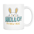 White Mug Hello I'm New Here Drinkware buy now