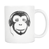 Mug Audio Monkey (white) Drinkware buy now