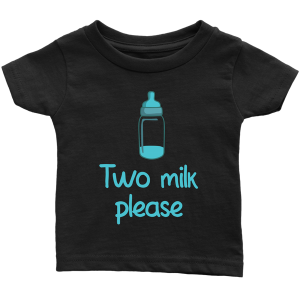Infant Shirt Two Milk Please T-shirt buy now