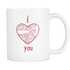 Mug I Love hate kill miss you (white) Drinkware buy now