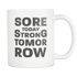 Mug Sore Today Strong Tomorrow (white) Drinkware buy now