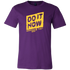 Mens Shirt Do It Now (yellow print) T-shirt buy now