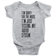 Baby Bodysuit I'm Sorry Fot The Noise