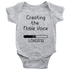 Baby Bodysuit Creating The Noble Voice T-shirt buy now