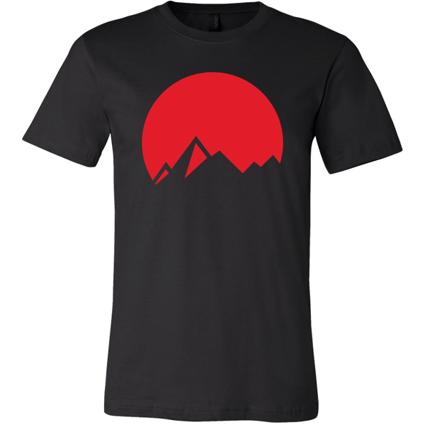 Mens Shirt Japan Mountains T-shirt buy now