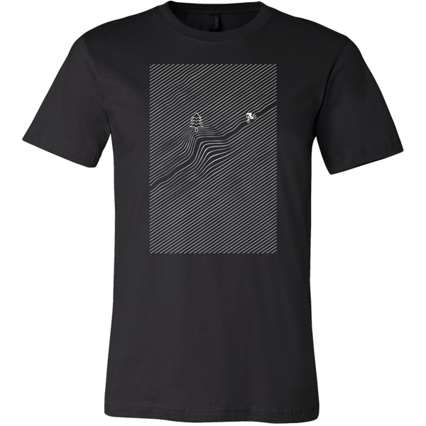 Mens Shirt Downhill Bike Mountains T-shirt buy now