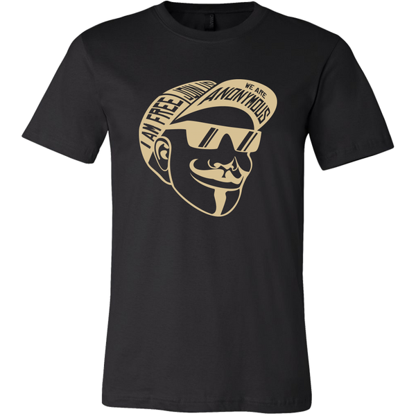 Mens Shirt Anonymous T-shirt buy now