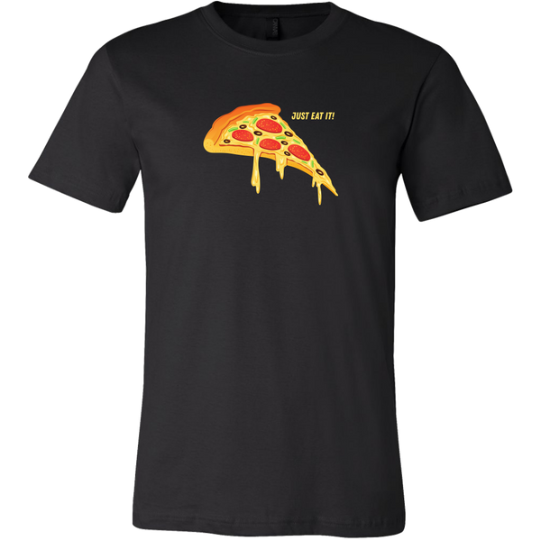 Mens Shirt Just Eat It Pizza T-shirt buy now