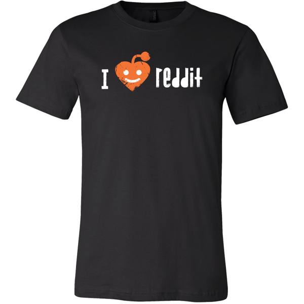 Mens Shirt I Love Reddit (white print) T-shirt buy now