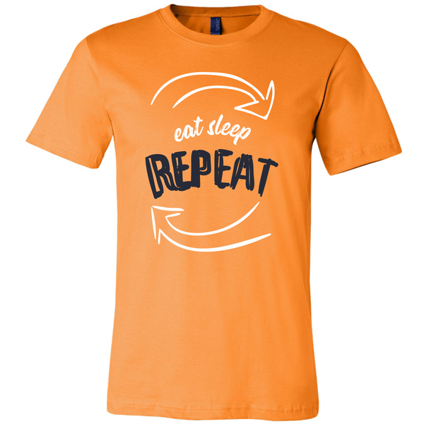 Mens Shirt Eat Sleep Repeat T-shirt buy now