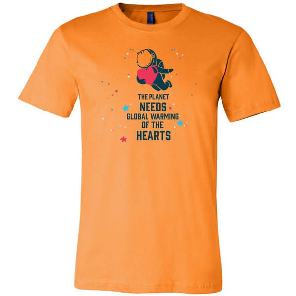 Mens Shirt The Planet Needs Global Warming Of The Hearts T-shirt buy now