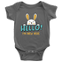 Baby Bodysuit Hello I'm New Here T-shirt buy now