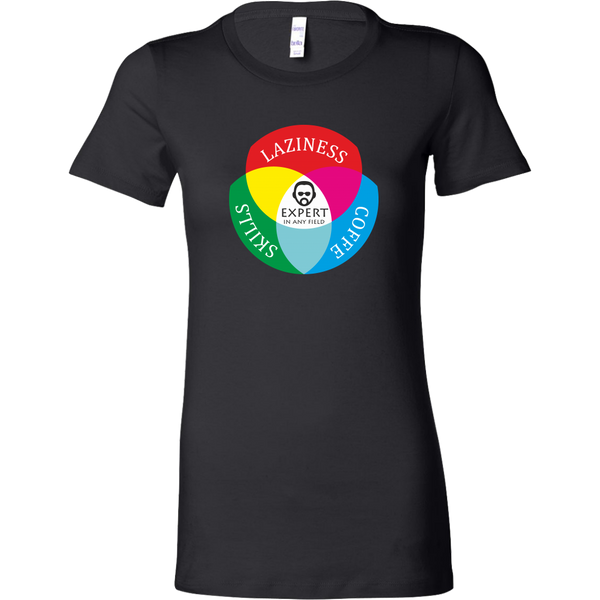 Womens Shirt Laziness Coffee Skills Expert T-shirt buy now