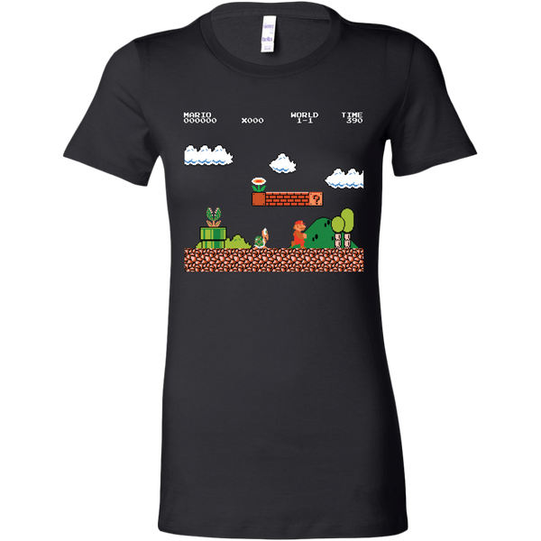 Womens Shirt Super Mario1