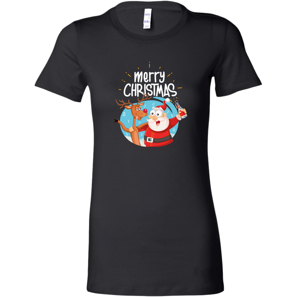 Womens Shirt Merry Christmas
