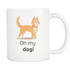 Mug Oh My Dog (white) Drinkware buy now
